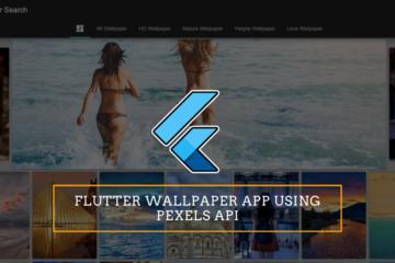 Flutter Wallpaper Web App Using pexels API