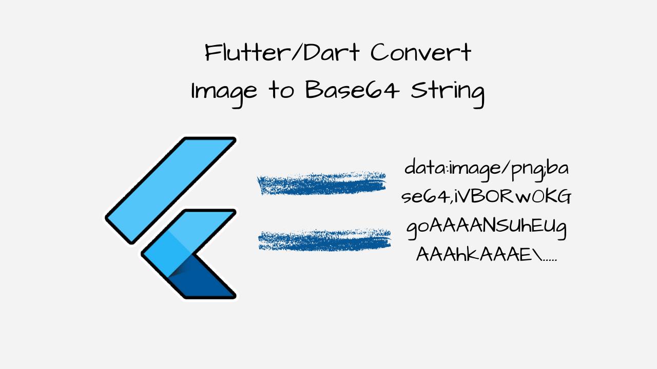 flutter/ dart image to base64