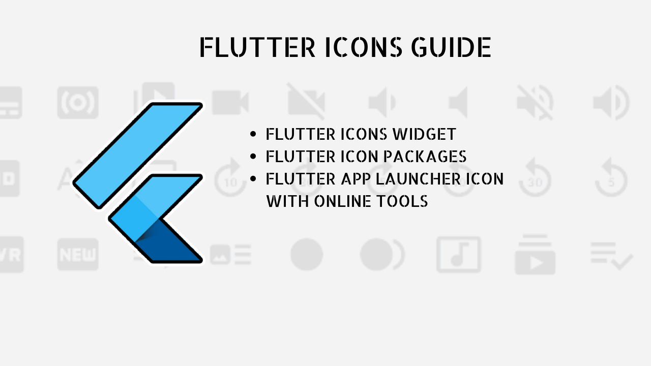 flutter icons
